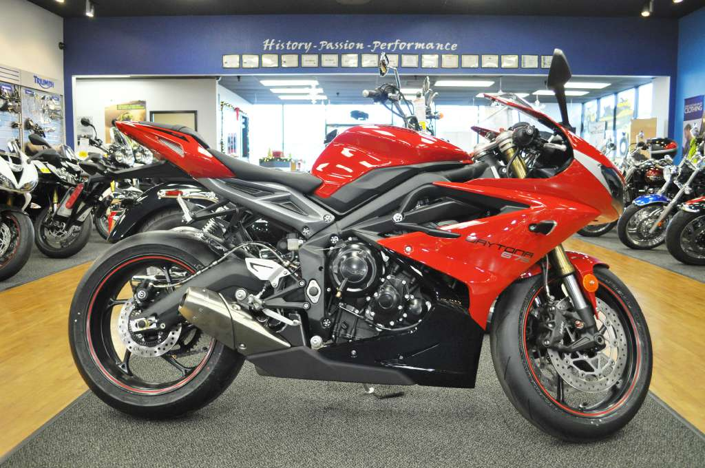 2015 Triumph Daytona 675 ABS, motorcycle listing