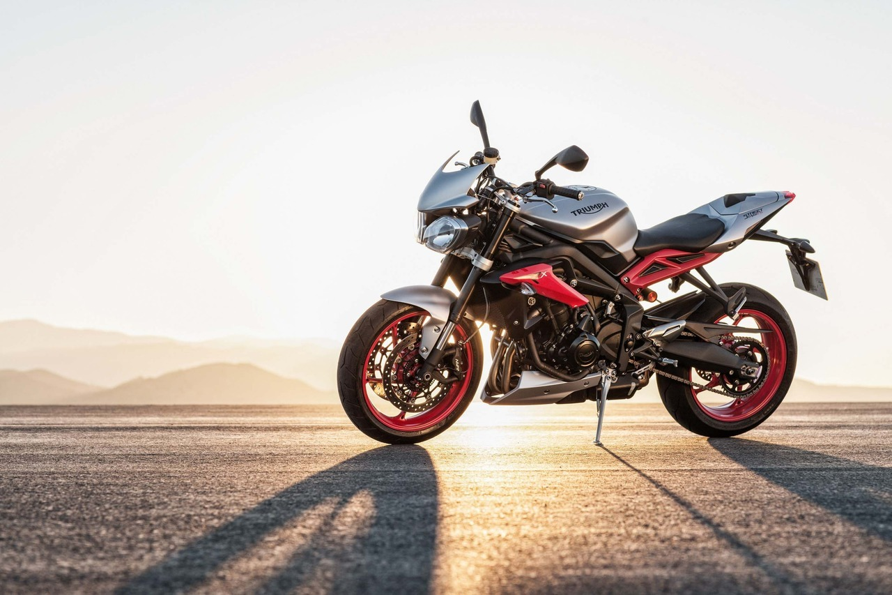 2015 Triumph STREET TRIPLE RX ABS, motorcycle listing