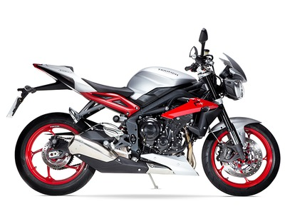 2015 Triumph Street Triple Rx Special Edition, motorcycle listing