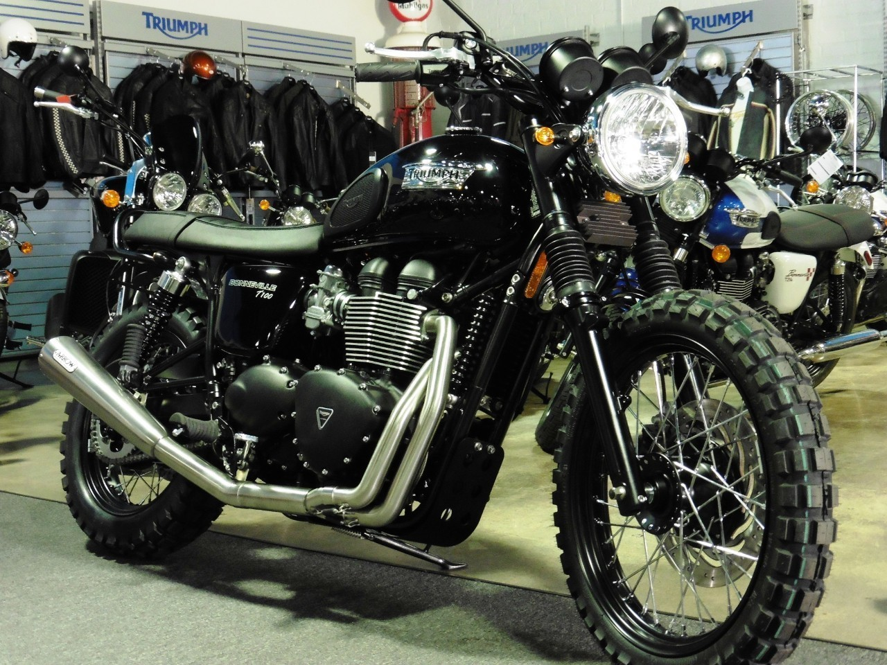 2015 Triumph T100 Scambler, motorcycle listing