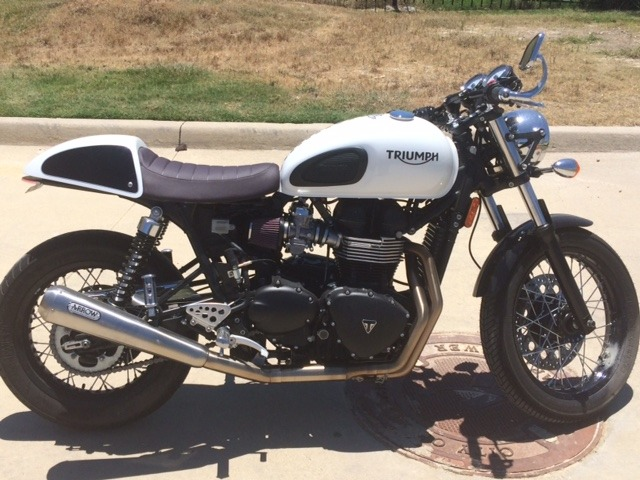 2015 Triumph Thruxton SPECIAL EDITION, motorcycle listing