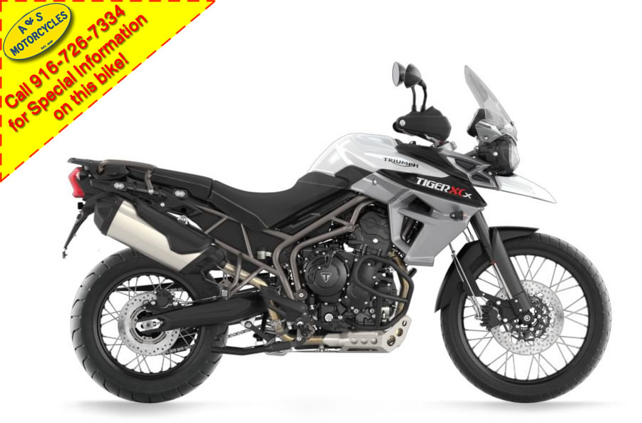 2015 Triumph Tiger 800 XCX - Demo, motorcycle listing