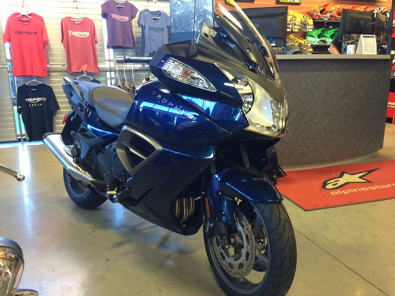 2015 Triumph Trophy SE ABS, motorcycle listing