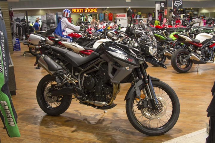 2016 Triumph TIGER 800, motorcycle listing