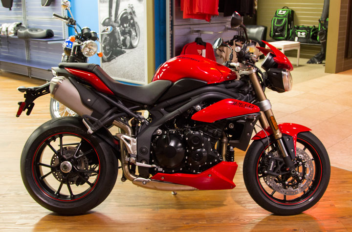2015 Triumph SPEED TRIPLE ABS A1, motorcycle listing