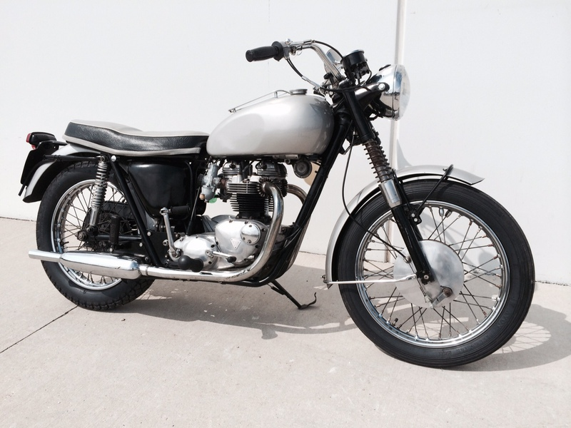 1965 Triumph T120SR, motorcycle listing