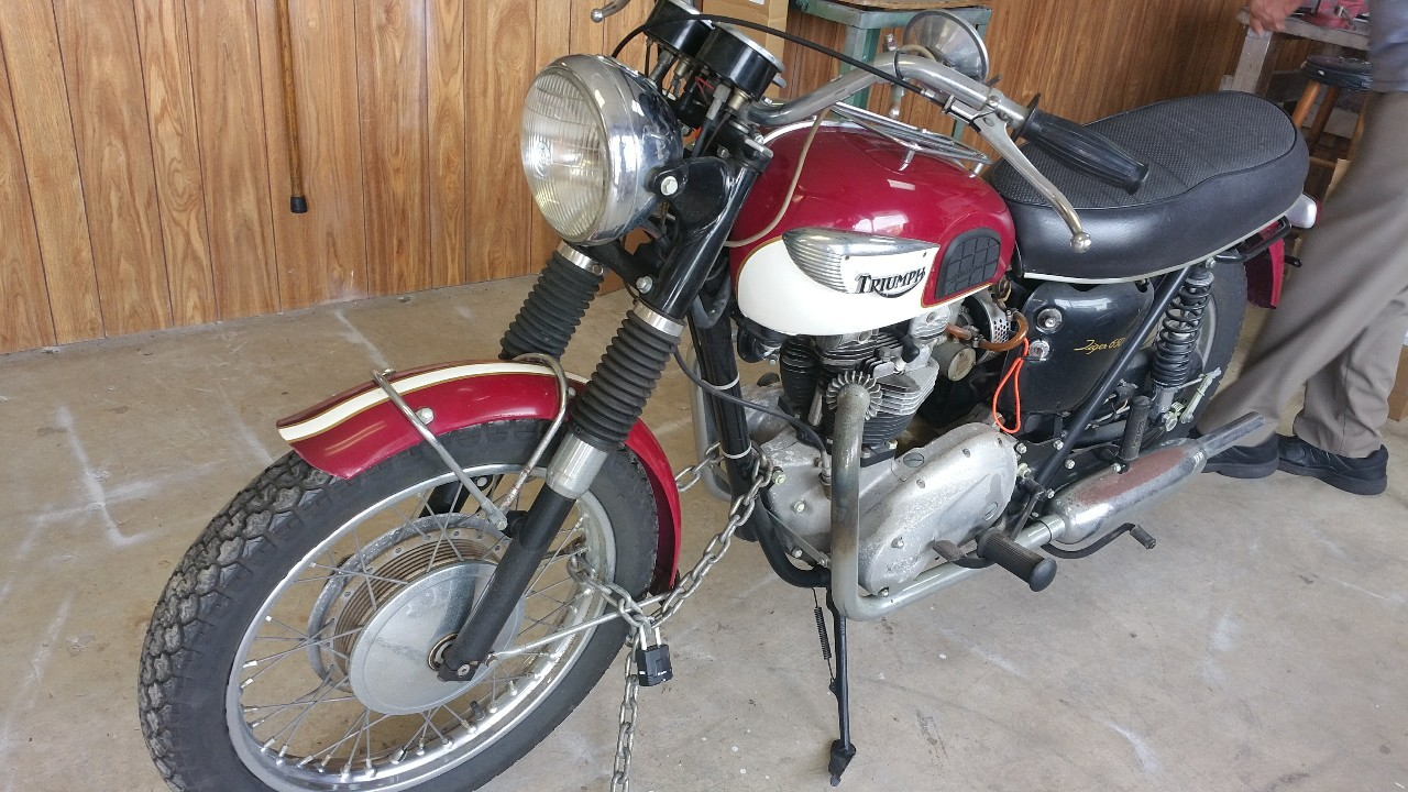 1966 Triumph Tr6c , motorcycle listing