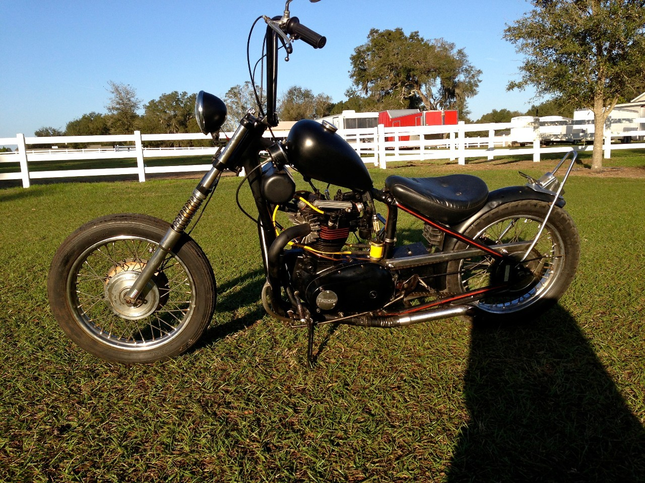 1969 Triumph 650 Chopper, motorcycle listing