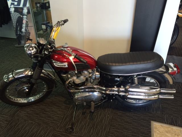 1969 Triumph TROPHY 650 HIGH PIPE, motorcycle listing