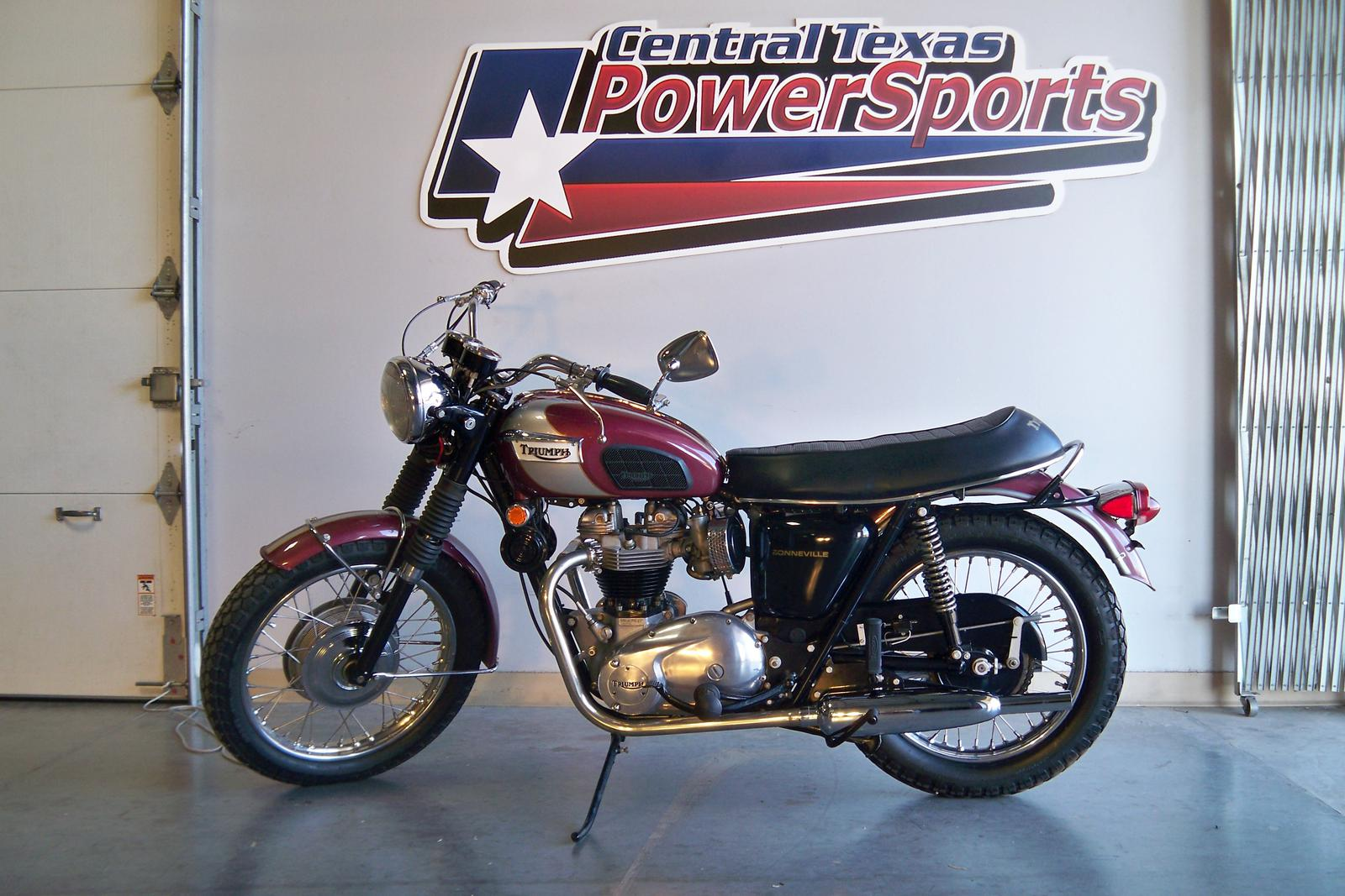 1970 Triumph T120R, motorcycle listing