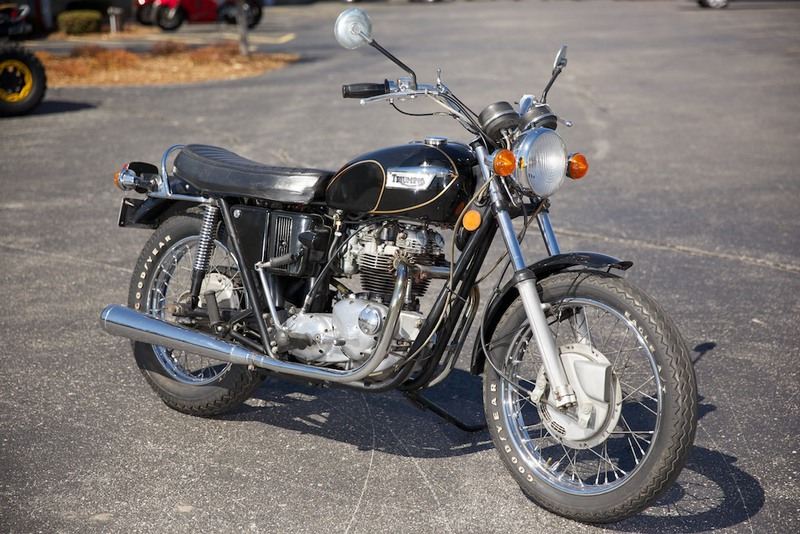 1971 Triumph TIGER TR6R, motorcycle listing