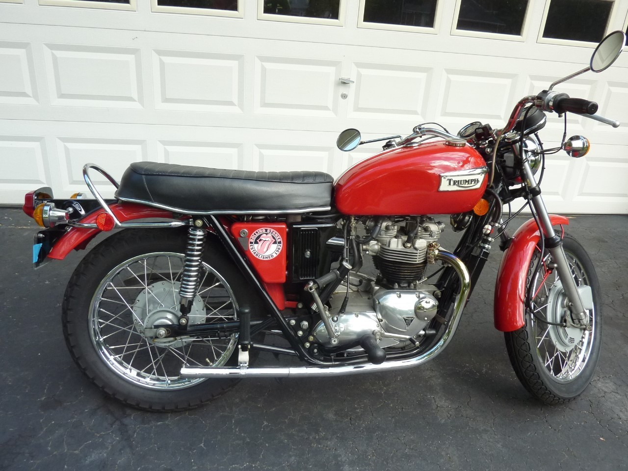 1971 Triumph Tiger , motorcycle listing