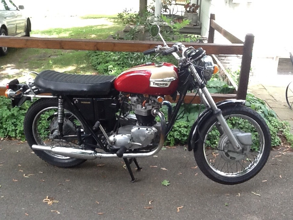 1972 Triumph Tiger , motorcycle listing