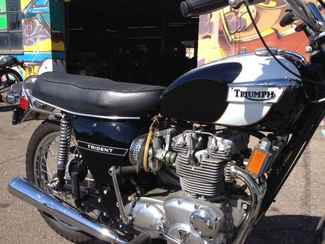 1972 Triumph Trident , motorcycle listing