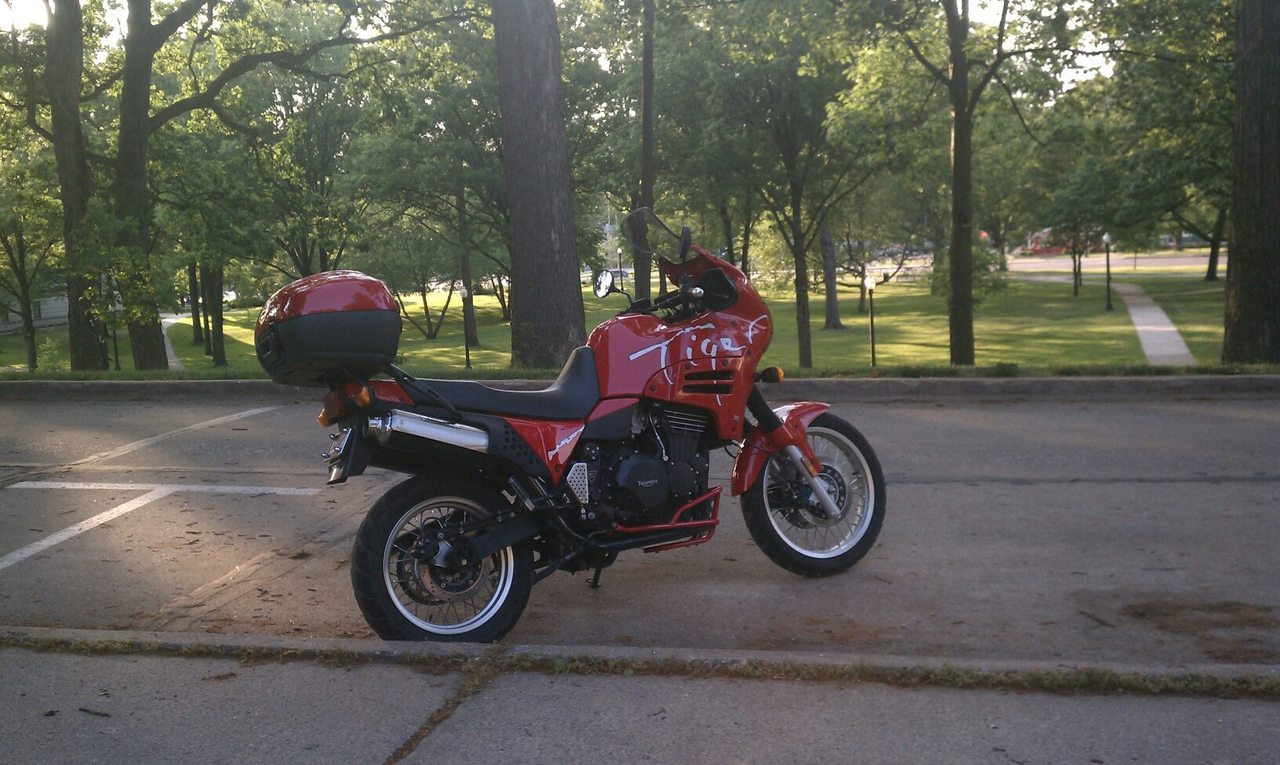 1996 Triumph Tiger , motorcycle listing