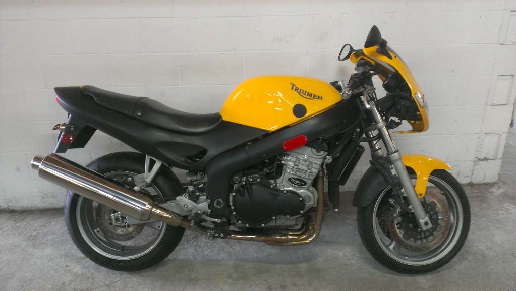 2000 Triumph RS1000, motorcycle listing