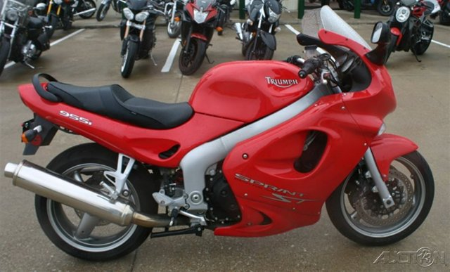 2002 Triumph Sprint ST 955i, motorcycle listing