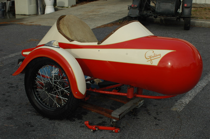 1937 Indian/Goulding sidecar, motorcycle listing
