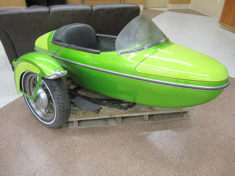 1957 Harley Davidson SIDECAR, motorcycle listing