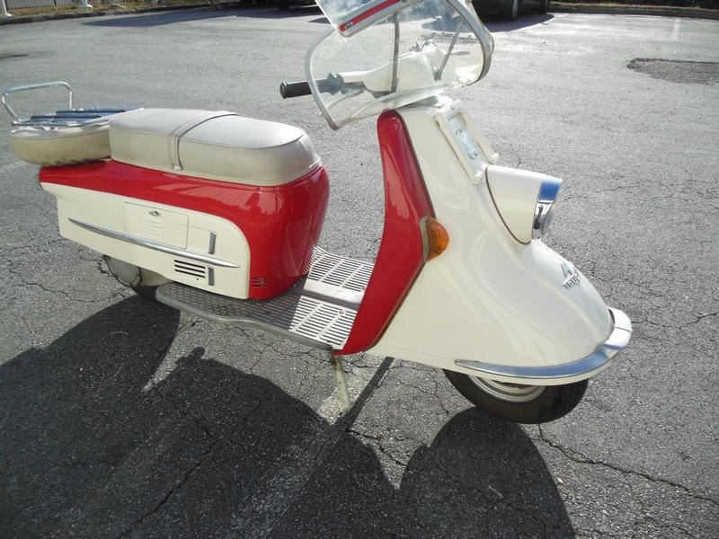 1965 Heinkle Tourist, motorcycle listing
