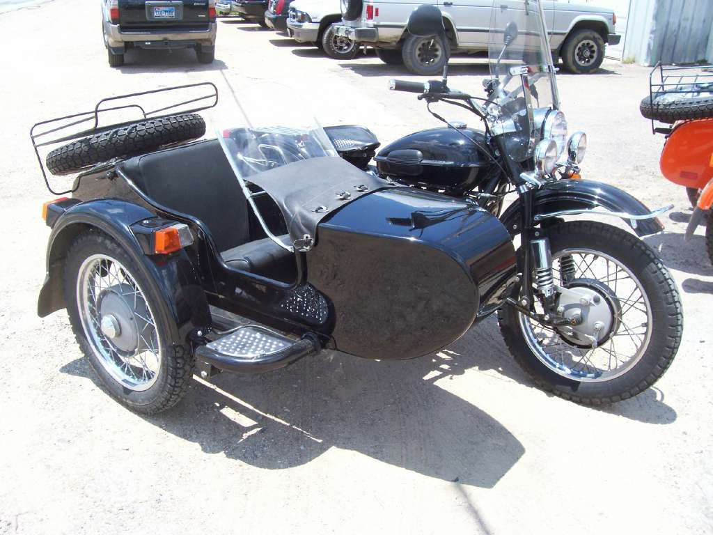 2003 Ural Tourist 750 with Sidecar, motorcycle listing