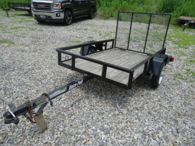 2012 Dura Pull 76X49.5 UTILITY TRAILER, motorcycle listing