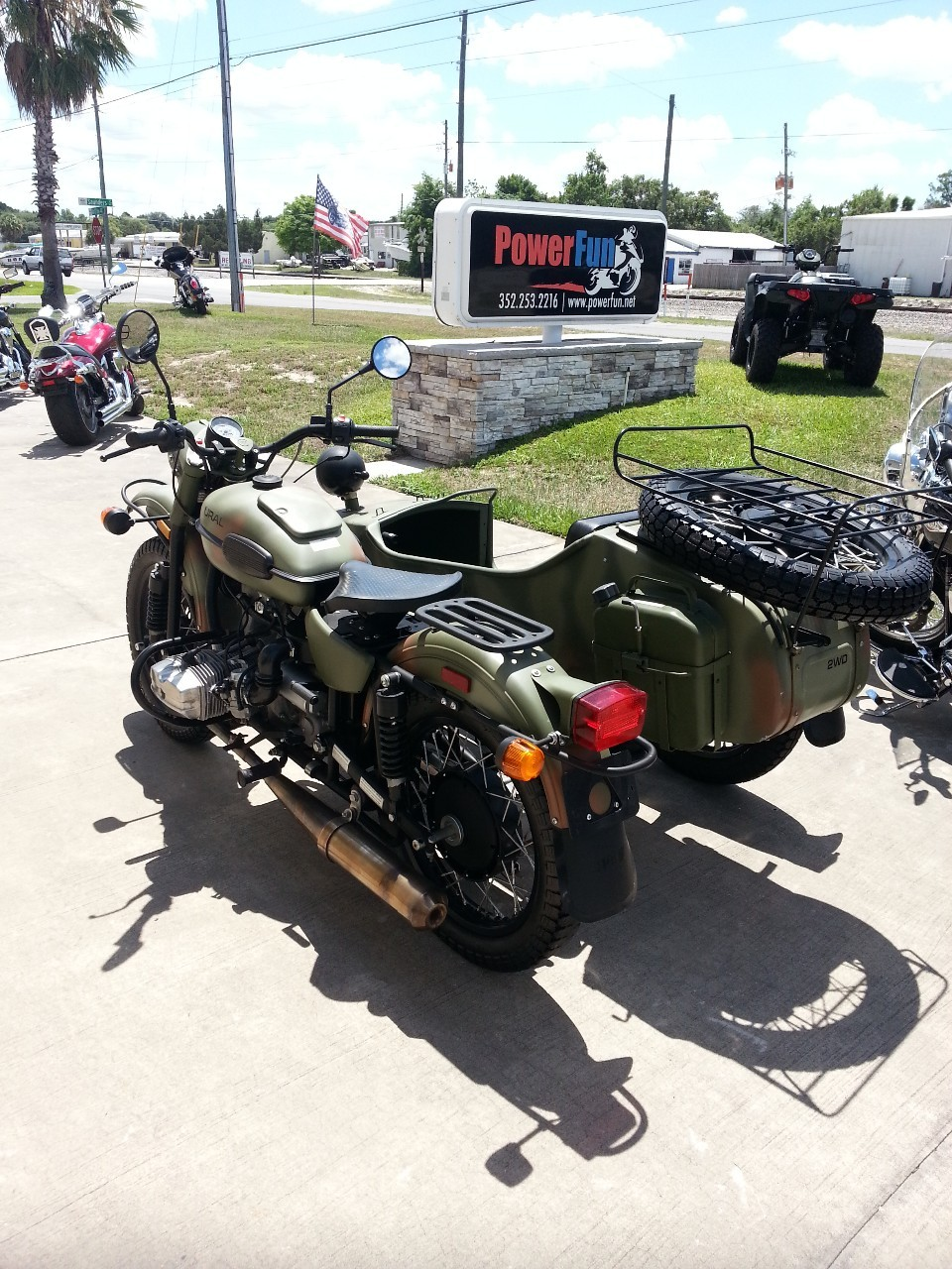 2012 Ural GEAR UP WITH SIDECAR FOREST , motorcycle listing