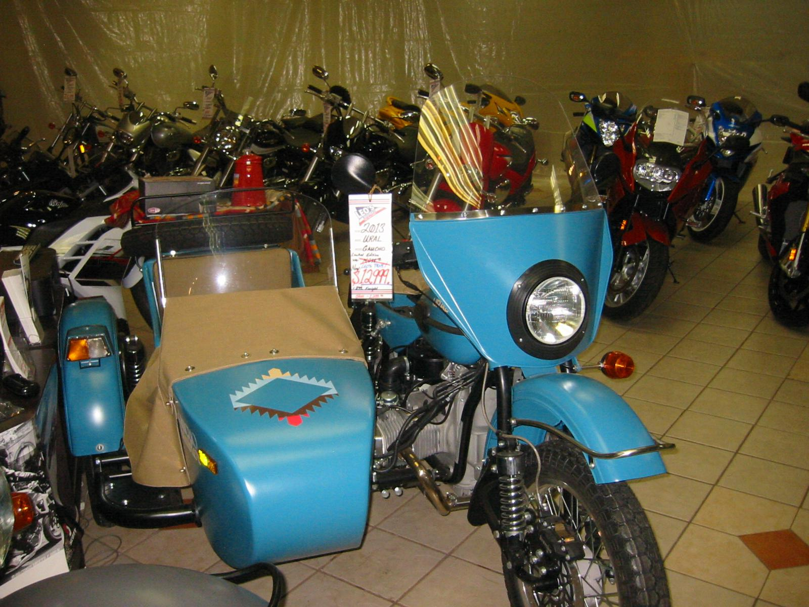 2013 Ural GAUCHO LIMITED EDITION, motorcycle listing