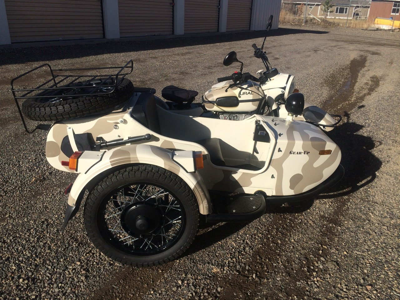 2013 Ural Gear-Up 2WD, motorcycle listing
