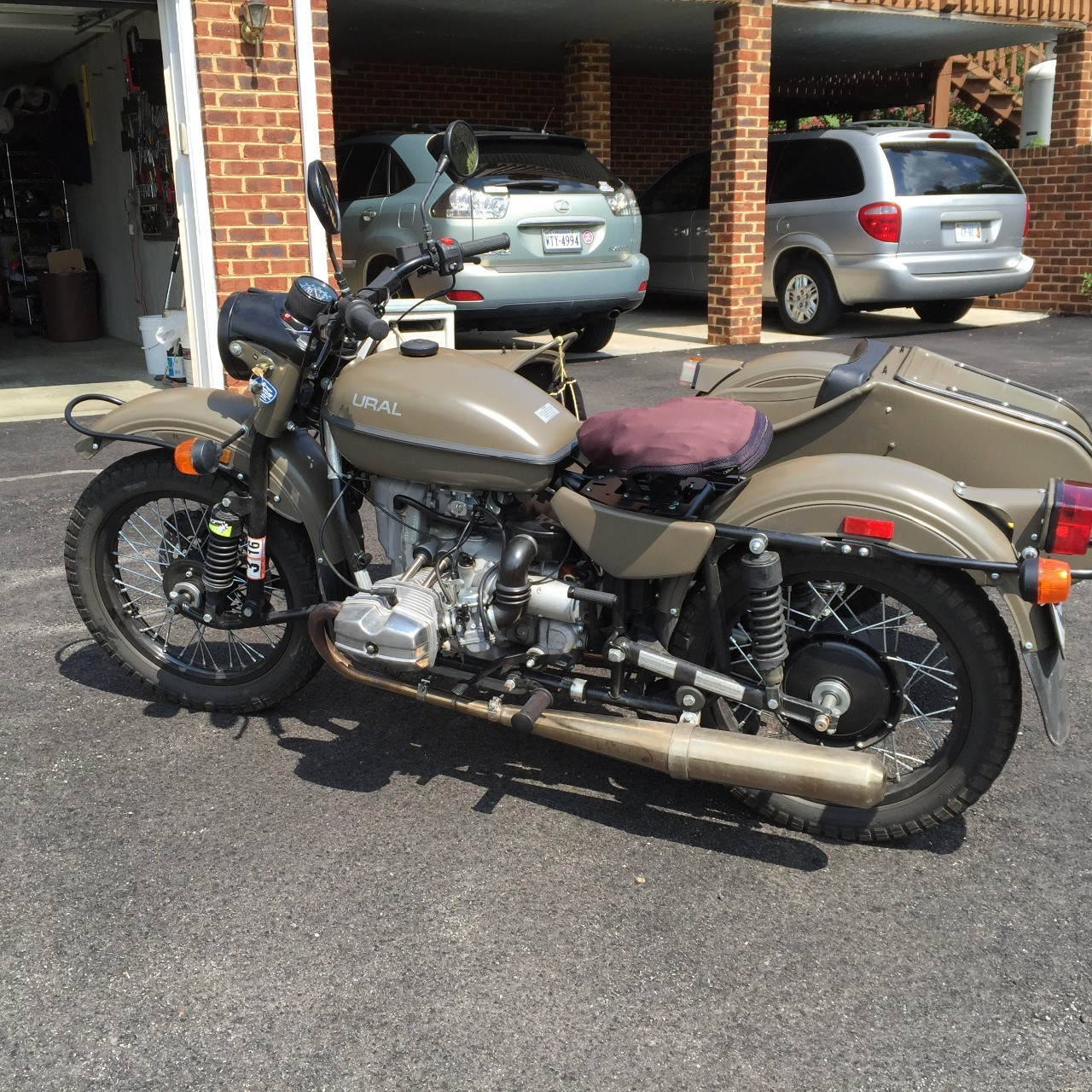 2013 Ural Tourist , motorcycle listing