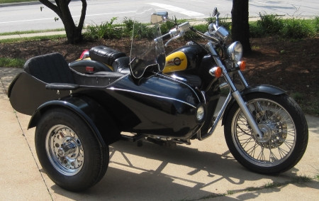 2014 Gsi Classical RocketTeer Motorcycle Sidecar Kit - Can-Am, motorcycle listing
