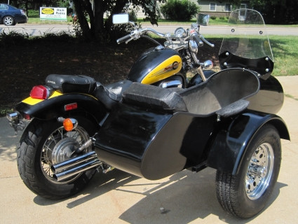 2014 Gsi Standard RocketTeer Motorcycle Sidecar Kit - Can-Am, motorcycle listing