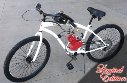 2015 Gsi 80cc Limited Edition Dewey Bicycle With Engine & Stretc, motorcycle listing