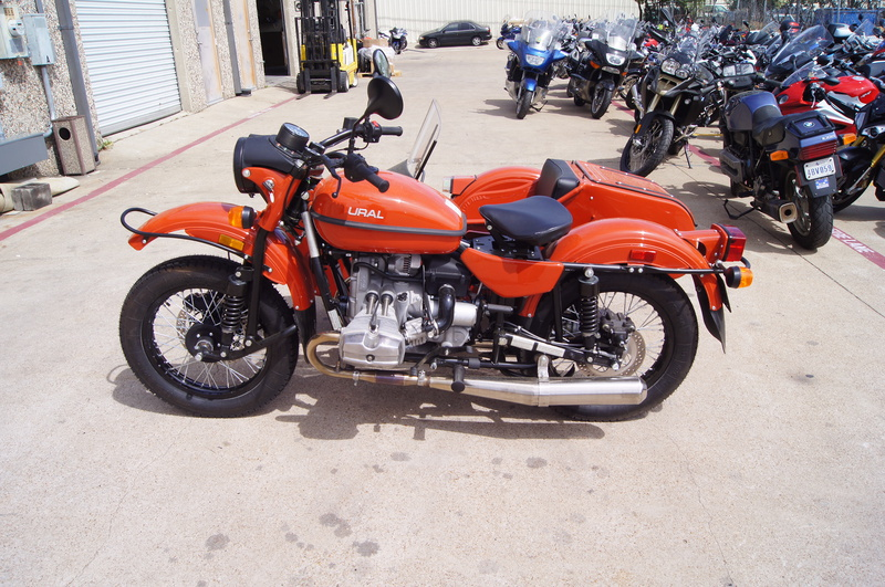 2015 Ural cT, motorcycle listing