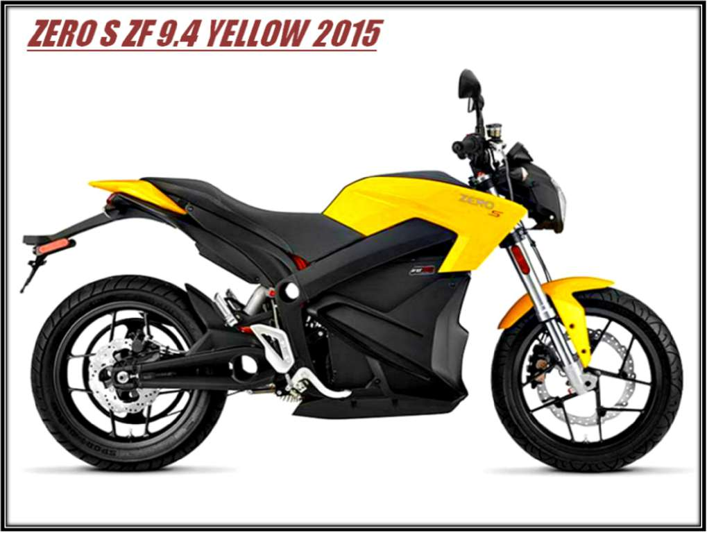 2015 Zero Motorcycles S ZF9.4, motorcycle listing