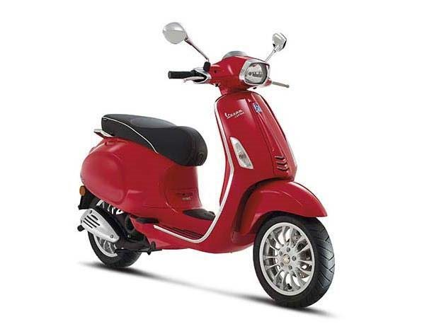 2016 Vespa Sprint 50 Rosso Dragon, motorcycle listing