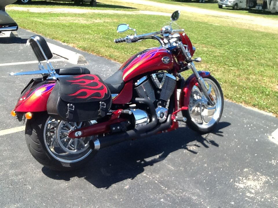 2007 Victory Vegas Jackpot, motorcycle listing