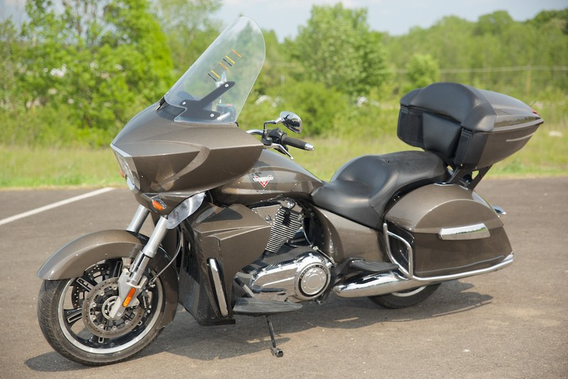 2013 Victory Cross Country Tour Bronze Mist, motorcycle listing