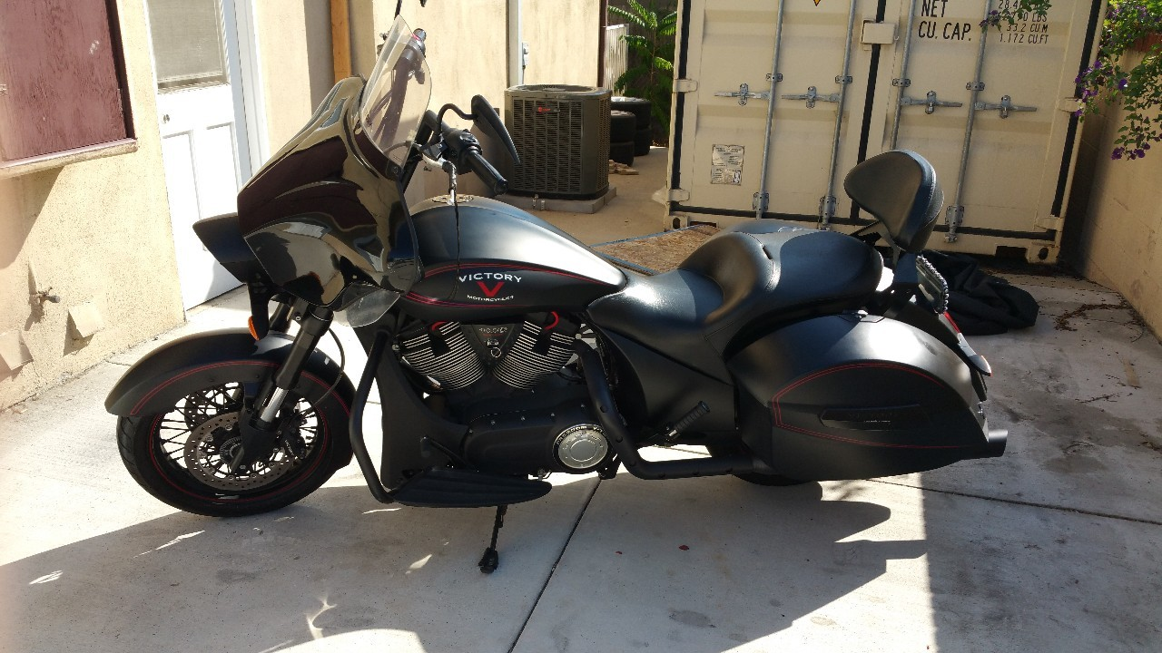 2013 Victory Hard-Ball , motorcycle listing
