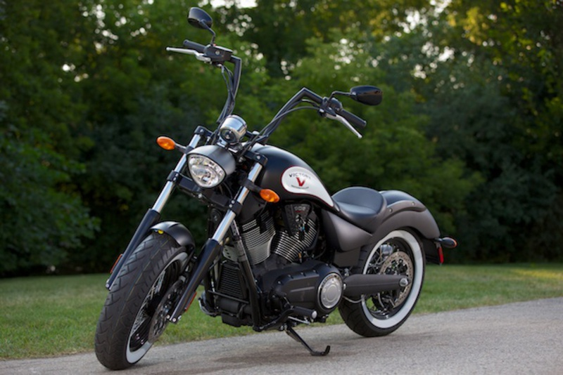 2013 Victory High-Ball Suede Black W/ Graphics, motorcycle listing