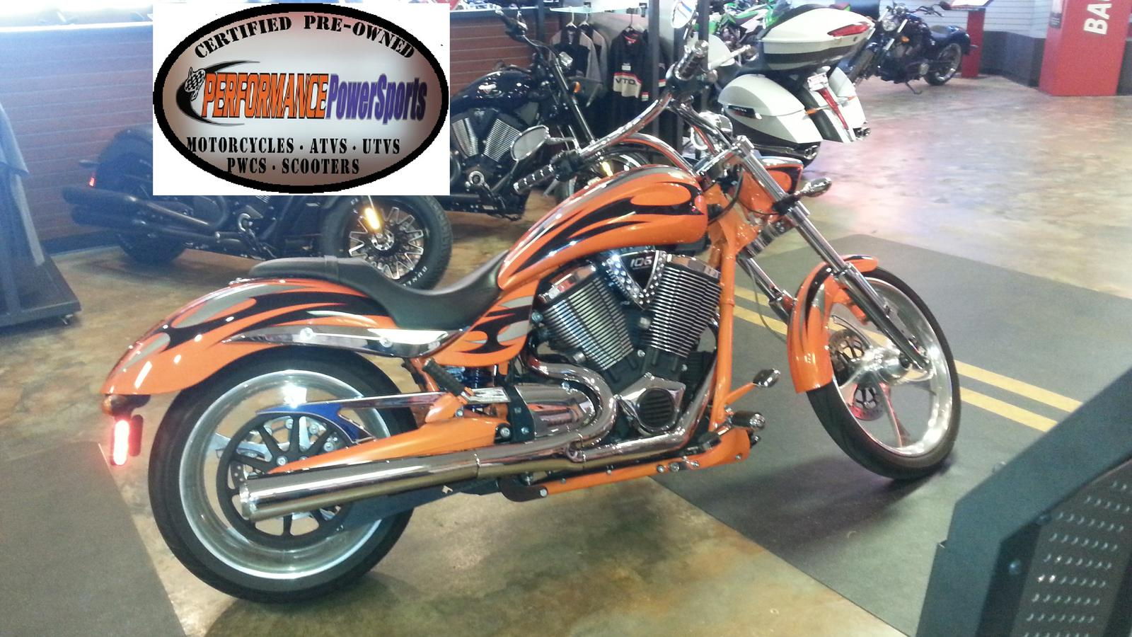 2013 Victory Jackpot, motorcycle listing