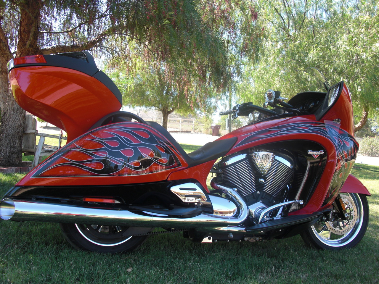 2013 Victory Vision ARLEN NESS, motorcycle listing