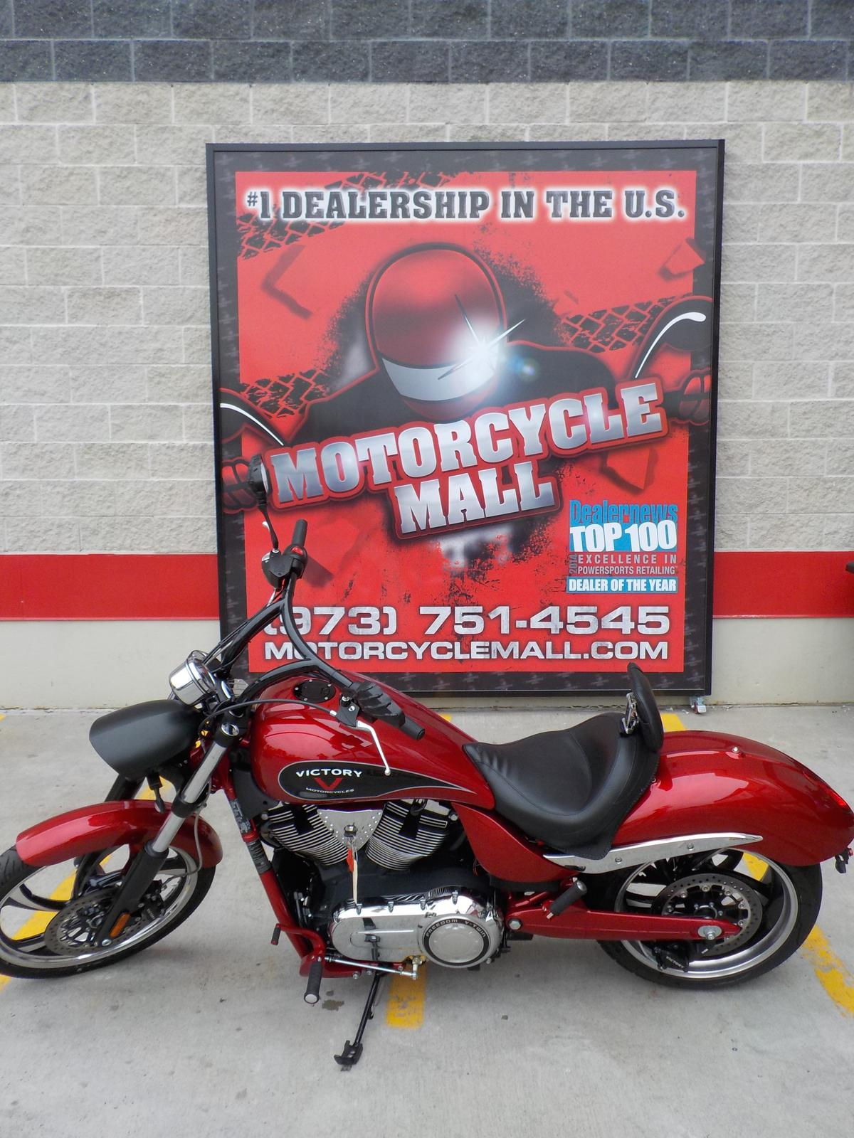 2014 Victory Jackpot, motorcycle listing