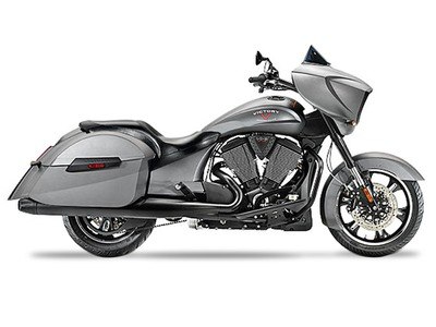 2015 Victory Cross Country Suede Titanium Metallic, motorcycle listing