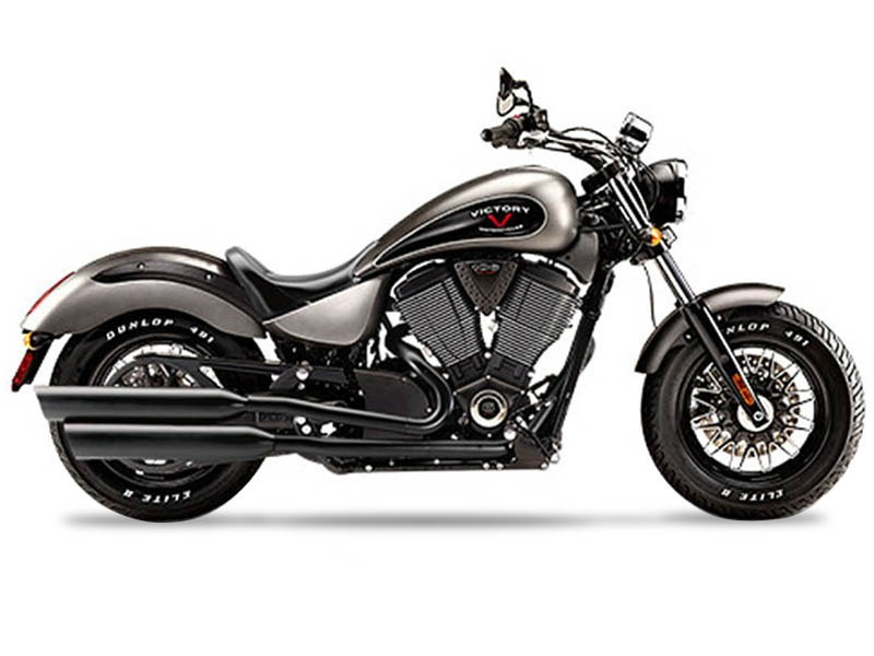 2015 Victory Gunner™ Suede Titanium Metallic with Black, motorcycle listing