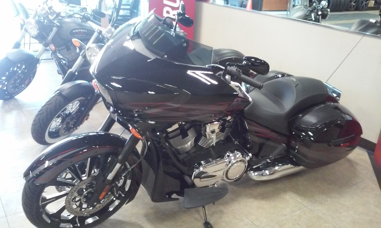 2015 Victory MAGNUM X1, motorcycle listing