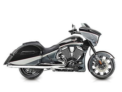 2015 Victory Magnum Metasheen Black over Super Steel Gray, motorcycle listing