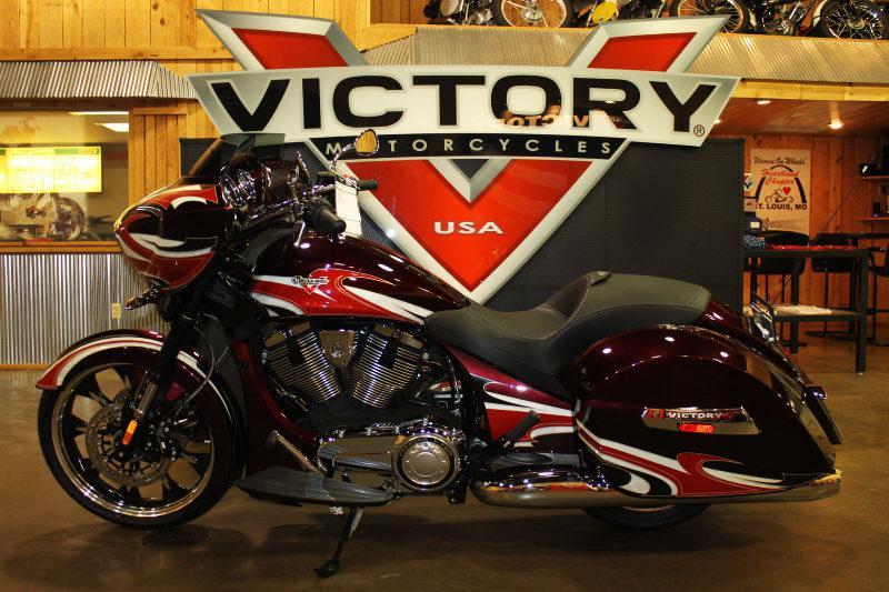 2015 Victory Victory Magnum - Ness Midnight Cher, motorcycle listing