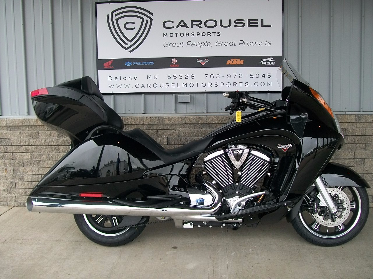 2015 Victory Vision® Tour, motorcycle listing