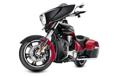 2015 Victory Cross Country - Two-Tone Suede Sunset Red, motorcycle listing